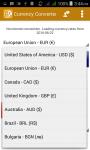 Currency Converter New screenshot 4/6