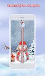 Snowman Zipper Lock Screen screenshot 1/6