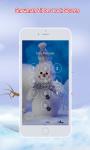 Snowman Zipper Lock Screen screenshot 2/6