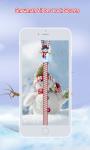 Snowman Zipper Lock Screen screenshot 3/6