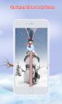 Snowman Zipper Lock Screen screenshot 4/6