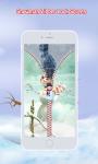 Snowman Zipper Lock Screen screenshot 5/6