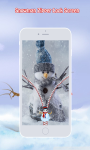 Snowman Zipper Lock Screen screenshot 6/6