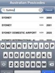 Australian Postcodes screenshot 1/1
