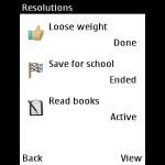 New Year Resolution screenshot 3/3