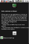 Wizzzer screenshot 1/1