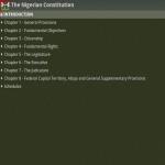 Nigerian Constitution screenshot 3/4