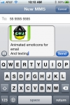 Emoticon Animations for Email,MMS and SMS screenshot 1/1