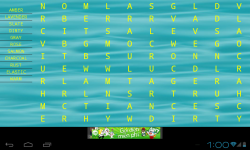 World Word Search screenshot 1/6