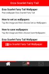 Erza Scarlet Fairy Tail Wallpaper screenshot 2/6