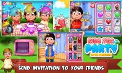Kids Tea Party With Friends screenshot 5/6