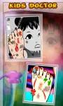Baby Girl Foot Doctor Game screenshot 2/6