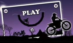 Dark Moto Race : Black Night Bike Racing Challenge screenshot 1/6