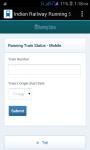 Indian Railway Running Status Live screenshot 1/4