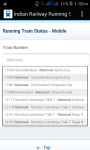 Indian Railway Running Status Live screenshot 2/4