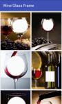 Wine glass frame photo screenshot 1/4