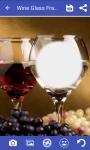 Wine glass frame photo screenshot 2/4