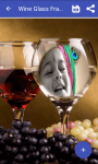 Wine glass frame photo screenshot 3/4