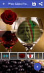 Wine glass frame photo screenshot 4/4