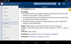 Dictionary  M W Premium new screenshot 1/6