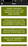 Kabaddi World 2016 screenshot 6/6