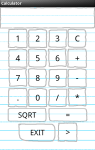 PaperCalculator for Android screenshot 1/2