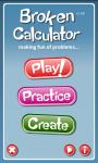 The Broken Calculator - Trial screenshot 2/4
