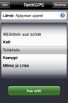 ReittiGPS (Reittiopas iPhonelle) screenshot 1/1