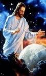 Jesus Watching Earth Live Wallpaper screenshot 1/2