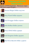 Salaries of WWE Superstars screenshot 2/3
