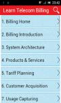 Learn Telecom Billing screenshot 1/3