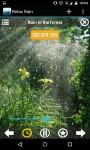Relax Rain Nature sounds screenshot 5/6