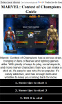 Marvel Contest of Champions Guide screenshot 1/3