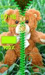 Teddy Bear Zipper Lock Screen Top screenshot 5/6