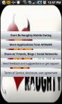 Be Naughty Mobile Dating screenshot 1/2