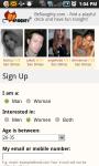 Be Naughty Mobile Dating screenshot 2/2