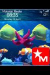 Free MStar Animated Tropical BlackBerry Theme screenshot 1/1