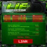 Lie Detector app screenshot 2/2