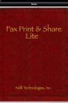 Fax Print & Share Lite for iPad screenshot 1/1