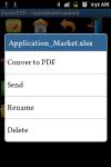 Excel2PDF Converter screenshot 2/6