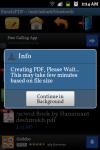Excel2PDF Converter screenshot 3/6
