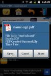 Excel2PDF Converter screenshot 4/6