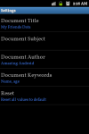 Excel2PDF Converter screenshot 6/6