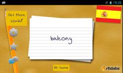 A Spanish Flashcards App screenshot 2/4