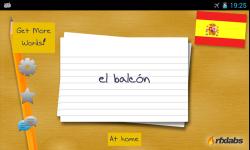 A Spanish Flashcards App screenshot 3/4