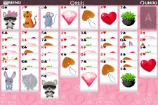 Freecell Valentine-Free screenshot 5/6