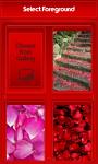 Rose Petals Zipper Lock Screen screenshot 3/6