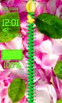 Rose Petals Zipper Lock Screen screenshot 6/6