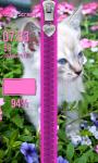 Cute Kitty Zipper Lock Screen screenshot 4/6