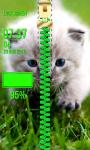 Cute Kitty Zipper Lock Screen screenshot 6/6